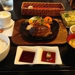 見蘭牛ダイニング 玄 - 極ハンバーグ(幻の和牛見島牛100%)2000円