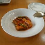 10723267 - 白身魚のさっぱりトマト炒め