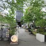 グッドモーニングカフェ  - テラス席