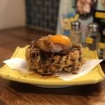 天ぷらスタンドKITSUNE - 海老と野菜のかきあげたれ