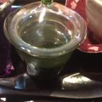 藍花 - 抹茶みつ