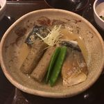 Ginzakandagawa - 煮魚(鯖味噌煮)定食