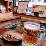 郷土料理・黒豚しゃぶ鍋・ぞうすい 八幡 - 生ビール!