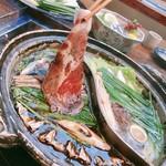 郷土料理・黒豚しゃぶ鍋・ぞうすい 八幡 - 黒豚ロース!