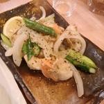 大衆海鮮酒場たら福 - ホタテバター