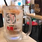 串カツ田中 - 梅干しサワー
