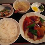 10724377 - 酢豚定食