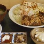俺の味 なかむら - 鶏唐定食