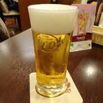 サッポロビアレストラン910 - ドリンク写真:生ビール小580円