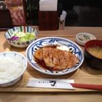 炙り牛たん 万 - 料理写真:豚のしょうが焼き