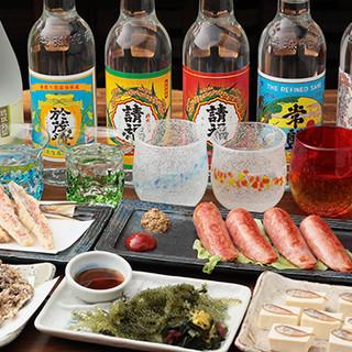 沖縄料理が自慢◎海ぶどう・島らっきょう…素材は沖縄から!