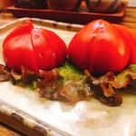 かかし - 冷やしトマト