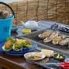 海辺の宿 長兵衛 - 料理写真:かき小屋プランは5.6.9.10月限定