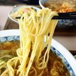 城門 - 城門ラーメンの麺リフトアップ