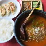 五番 - 料理写真:担々麺セット