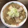 庵 - 料理写真:醤油ラーメン(並)550円