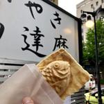 たいやき神田達磨 - バリの部分が美味しい♪薄皮でクリスピー