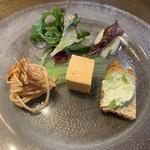 洋食 ルセット - 前菜盛り合わせ