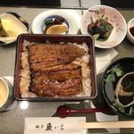 料亭魚いち - 料理写真:鰻御膳 4320円