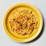 Curry&Spaghetti meer lounge  - ナスとベーコンとモッツァレラのトマトスパゲッティ