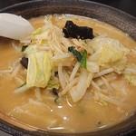 幸楽苑 - 料理写真:味噌野菜たんめん。