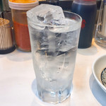 エビス屋昼夜食堂 - 芋焼酎の水割り290円税別