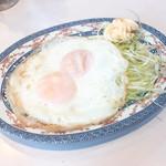 エビス屋昼夜食堂 - 目玉焼き230円税別