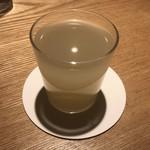 焼鳥今井 - 竹鶴 雄町にごり(グラス)