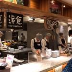 洞爺湖万世閣ホテルレイクサイドテラス - 洋食コーナー(中央奥が北海道産の牛肩熟成肉ローストビーフのコーナー)