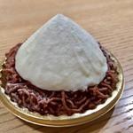 ラトリエ モトゾー - 料理写真:モンテビアンコ(イタリア栗)540円