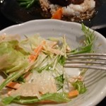 サルバシオン - セットのサラダ 私の食べかけ