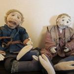風と野の紀行 - 人形のディスプレイ