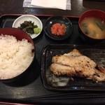 あじひろ - 赤魚の西京焼き 明太子トッピング
