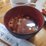 参州楼 - お味噌汁