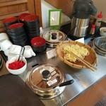 参州楼 - 麺類のコーナー