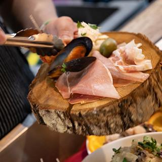 ヴェネツィアの小皿料理「チケッティ」は常時10種類!