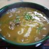 鶴八 - 料理写真:カレーうどん