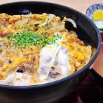 寿々喜 - カツ丼 2019/05/06