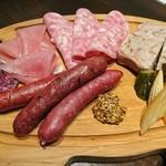 ルヴァン - 肉屋の前菜盛り合わせ