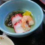 海鮮、定食、天ぷらと酒 舟源 - 酢の物です