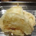 天ぷら さいとう 博多 - れんこん