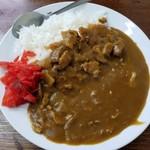 食事処 三平 - カツカレー 700円