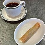 foujita - えらべるランチセットのカンノーロと珈琲