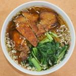 鳳林 - パイコウメン 大盛 ※香港麺(細)を選択