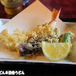 Echigoya - 大きな海老天