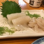 甚六鮨 - イカ刺