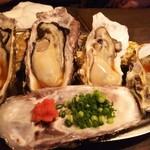 らんまる - 牡蠣一個380円