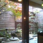 椿堂茶舗 茶房 竹聲 - 中庭