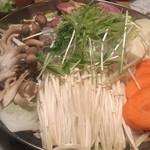 nagoyako-chinsemmonkoshitsuizakayatoyoda - 名古屋コーチンのすき焼き鍋