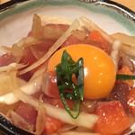 nagoyako-chinsemmonkoshitsuizakayatoyoda - 新鮮地鶏のたたき